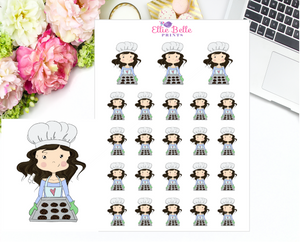 Baking Stickers - Christine Collection 2