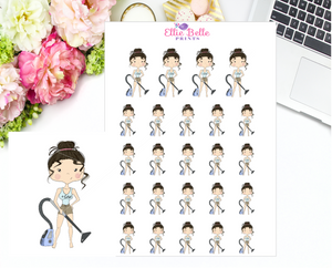 Vacuum Stickers - Christine Collection 2