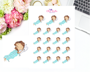 Sleep In Stickers - Christine Collection 1