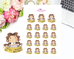 Fyi Yay Stickers - Christine Collection 1