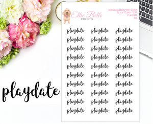 Playdate - Script Stickers