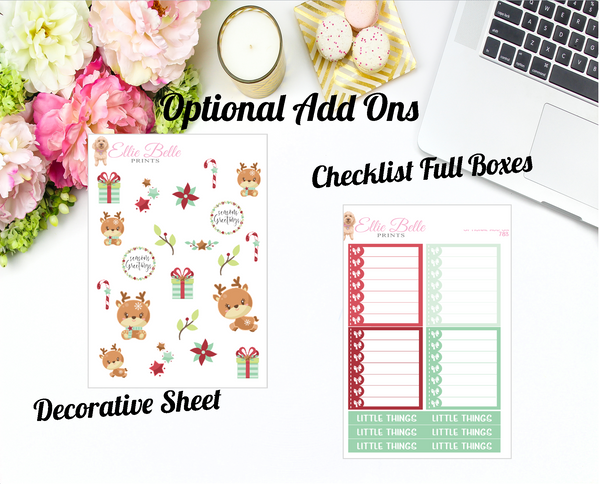 Seasons Greetings Collection - Horizontal Weekly Kit