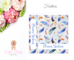 JUMBO Sticker Album (Sticker Kits) - Feathers