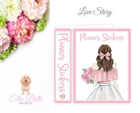 JUMBO Sticker Album (Sticker Kits) - Love Story