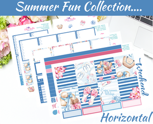 Summer Fun Collection - Horizontal Weekly Kit [400]