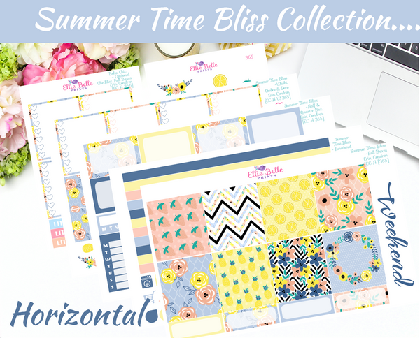 SUMMER TIME BLISS COLLECTION - Horizontal Weekly Kit [365]
