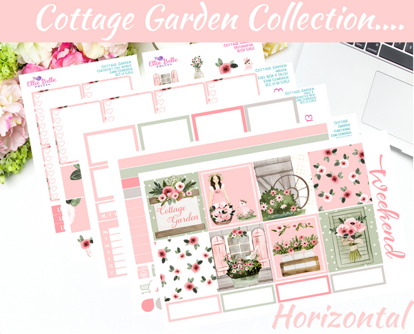 Cottage Garden - Horizontal Weekly Kit