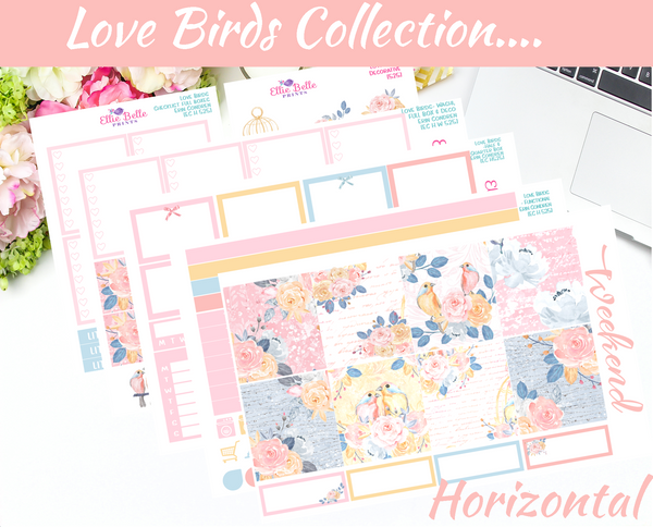 Love Birds - Horizontal Weekly Kit
