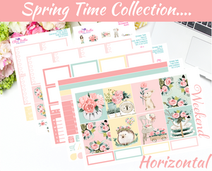 Spring Time - Horizontal Weekly Kit