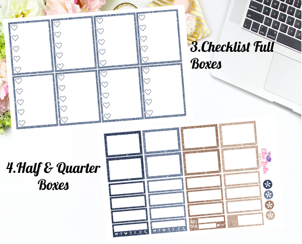 Winter Favourites Collection - Vertical Weekly Planner Kit