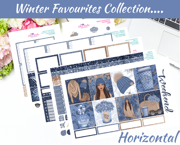 Winter Favourites - Horizontal Weekly Kit