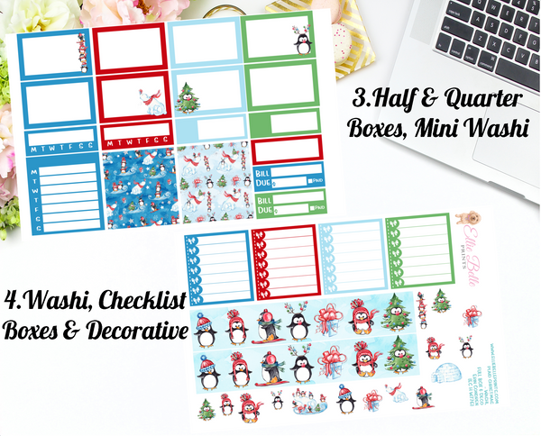 Winter Joy Collection - Horizontal Weekly Kit