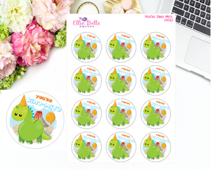 You're Dino Mite Teacher Stickers