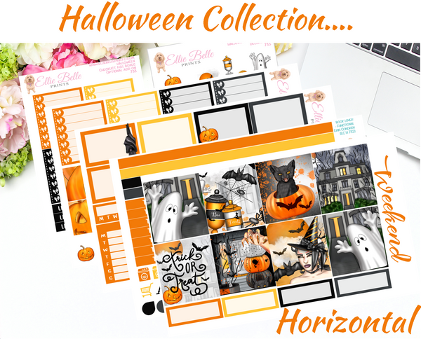 Halloween - Horizontal Weekly Kit