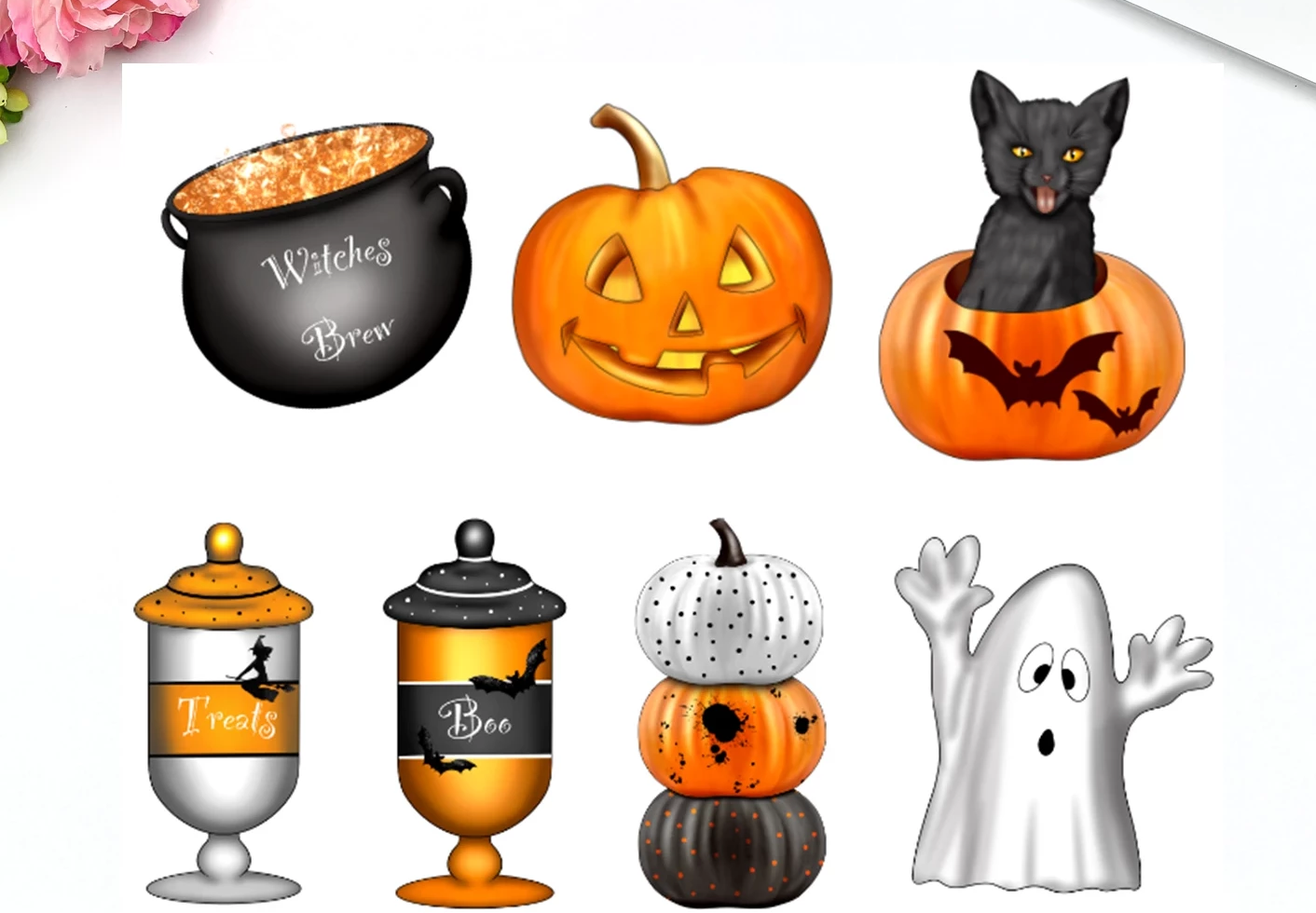Die Cut Stickers - Halloween