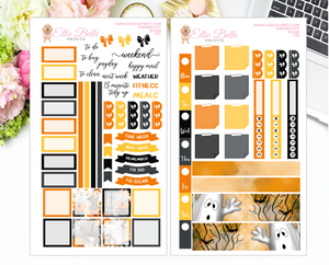 Halloween Ghosts - Hobonichi Weeks Kit