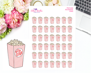 Popcorn Decorative Stickers