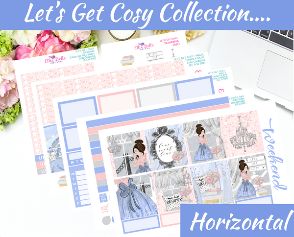 Let's Get Cosy - Horizontal Weekly Kit