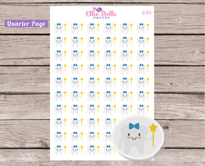 Boy Tooth Fairy Decorative Stickers [226]