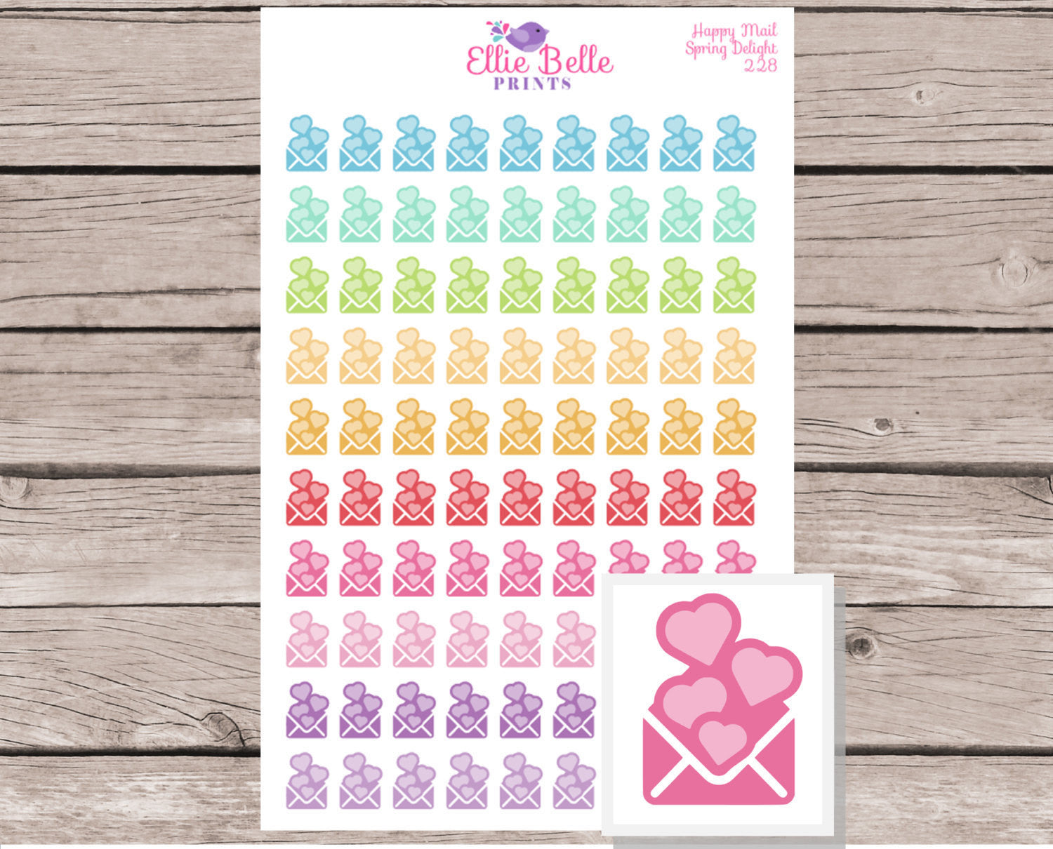 Mail Stickers / Happy Mail Stickers [228]