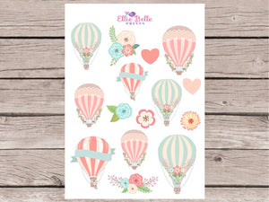 Come Fly With Me Collection Decorative Stickers