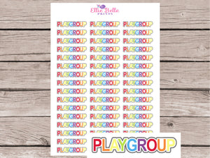 Playgroup Stickers [264]