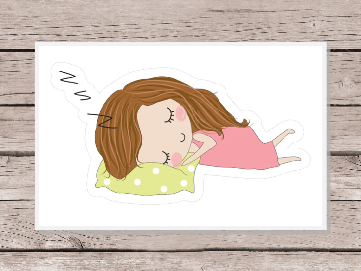 Sleep In Stickers - Girl Collection 1