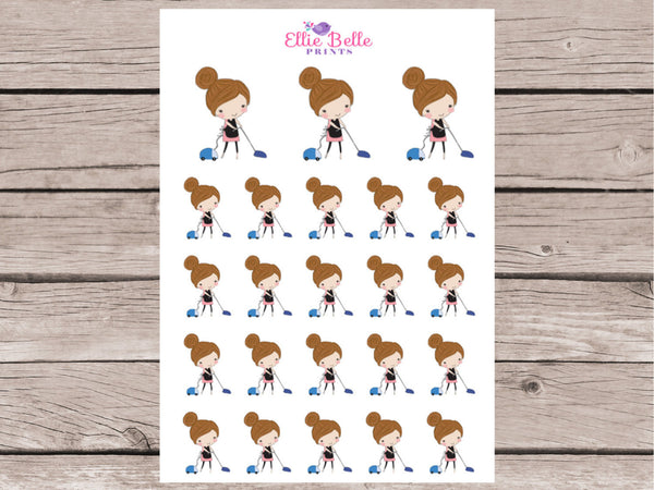 Vacuum Stickers - Girl Collection 1
