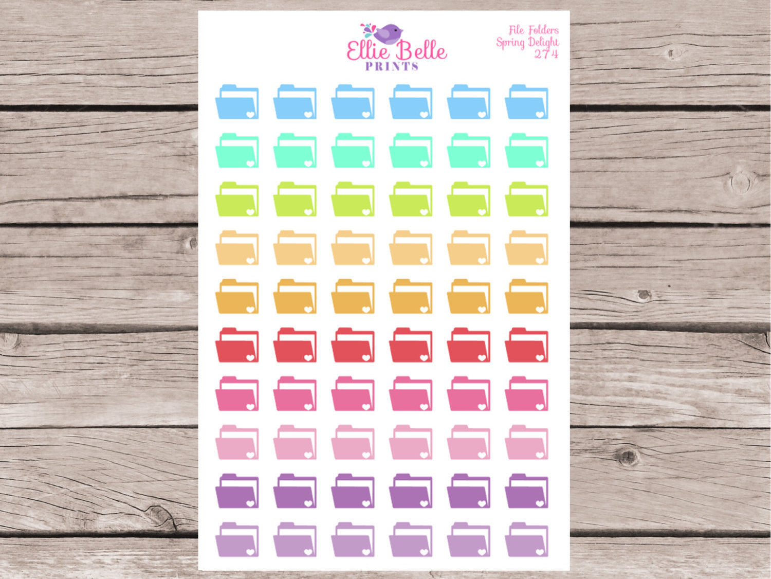 File Folder Stickers [274]