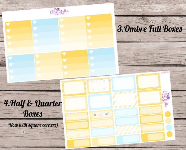 BEE COLLECTION - Vertical Weekly Planner Kit [111]