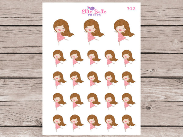 Happy Girl Stickers - Girl Collection 1