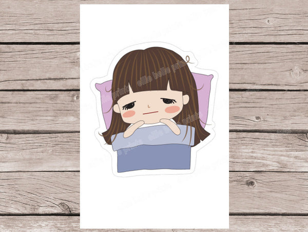Sick #2 Sticker - Girl Collection 2