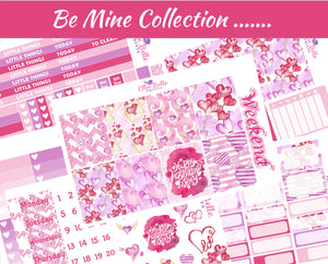 Be Mine Collection - Vertical Weekly Kit [328]
