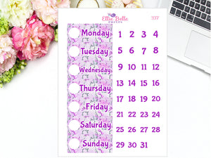 LAVENDER KEYS Date Covers [337]