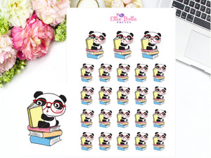 Reading Stickers - Panda Collection