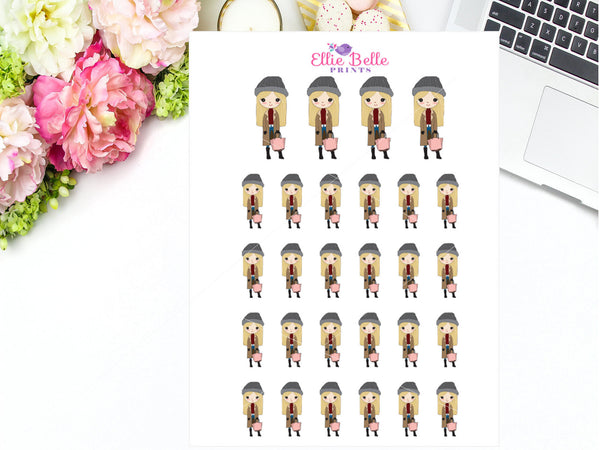Winter / Cold Stickers - Girl Collection 5