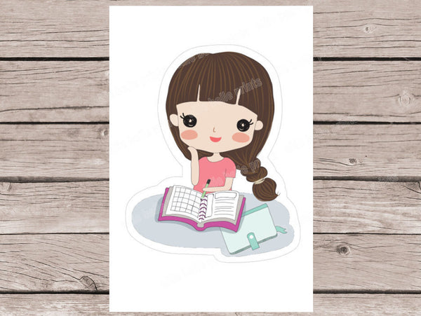Planning Stickers - Girl Collection 2