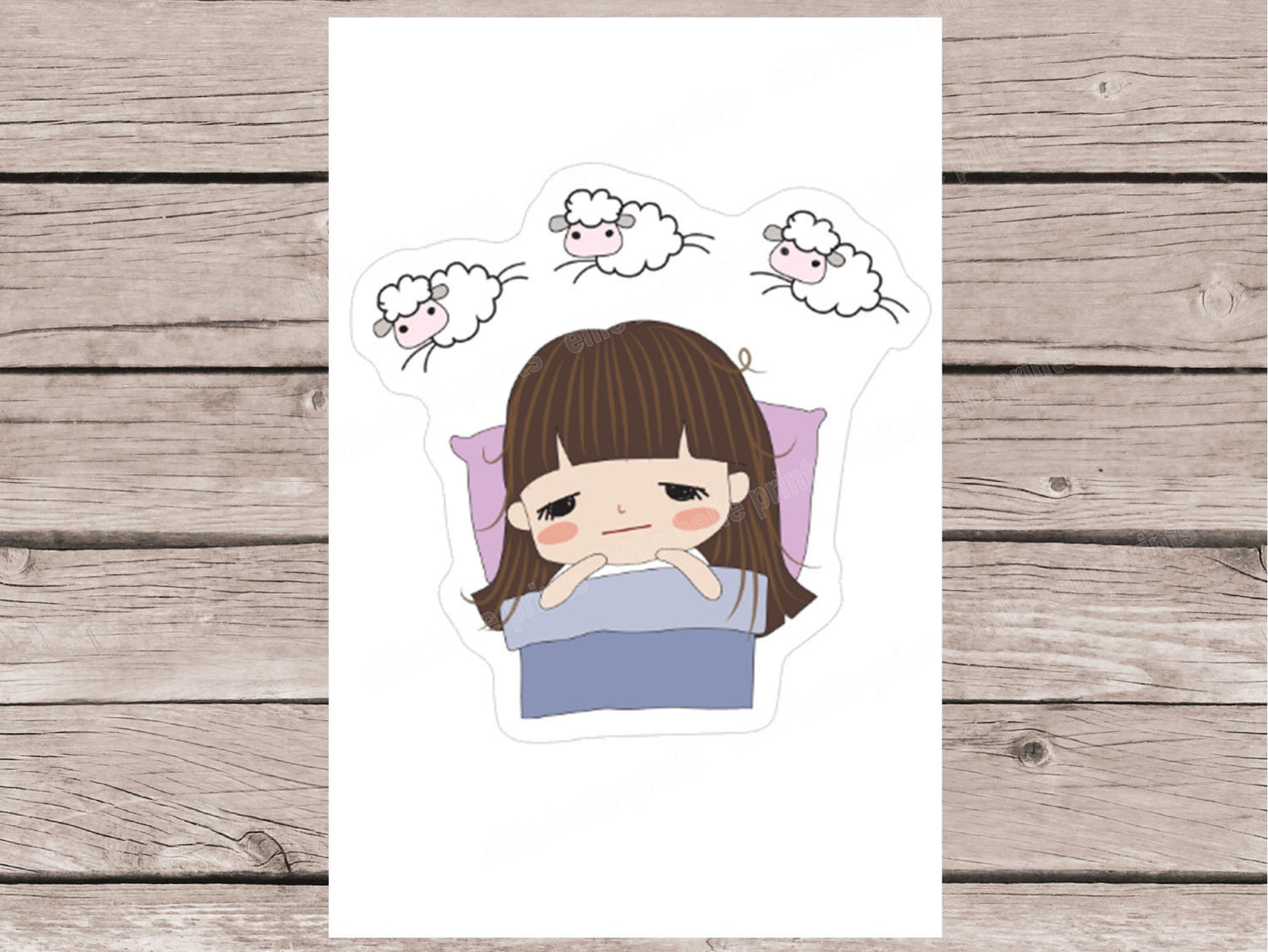 Insomnia Stickers - Girl Collection 2
