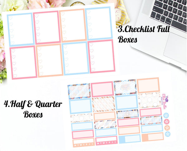BOHO CHIC COLLECTION - Vertical Weekly Planner Kit [366]