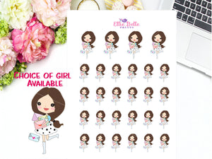 Happy Mail Stickers - Girl Collection 3