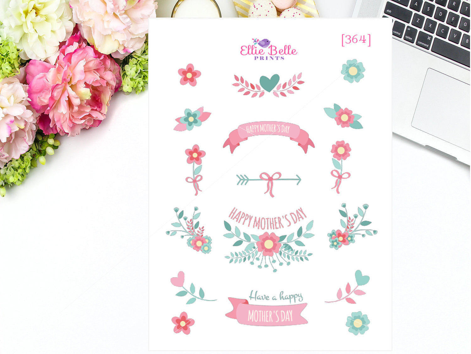 Mothers Day Decorative Stickers