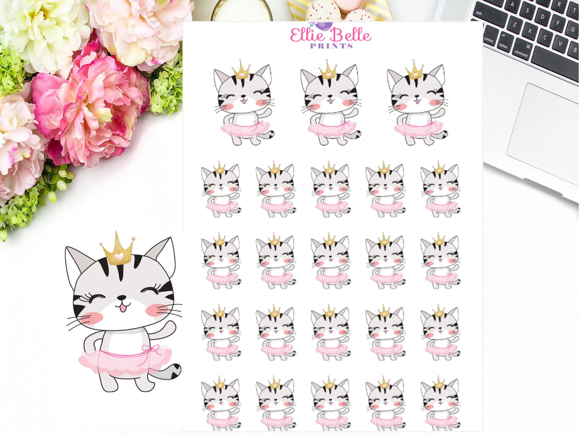 Dancing Stickers - Cat Collection