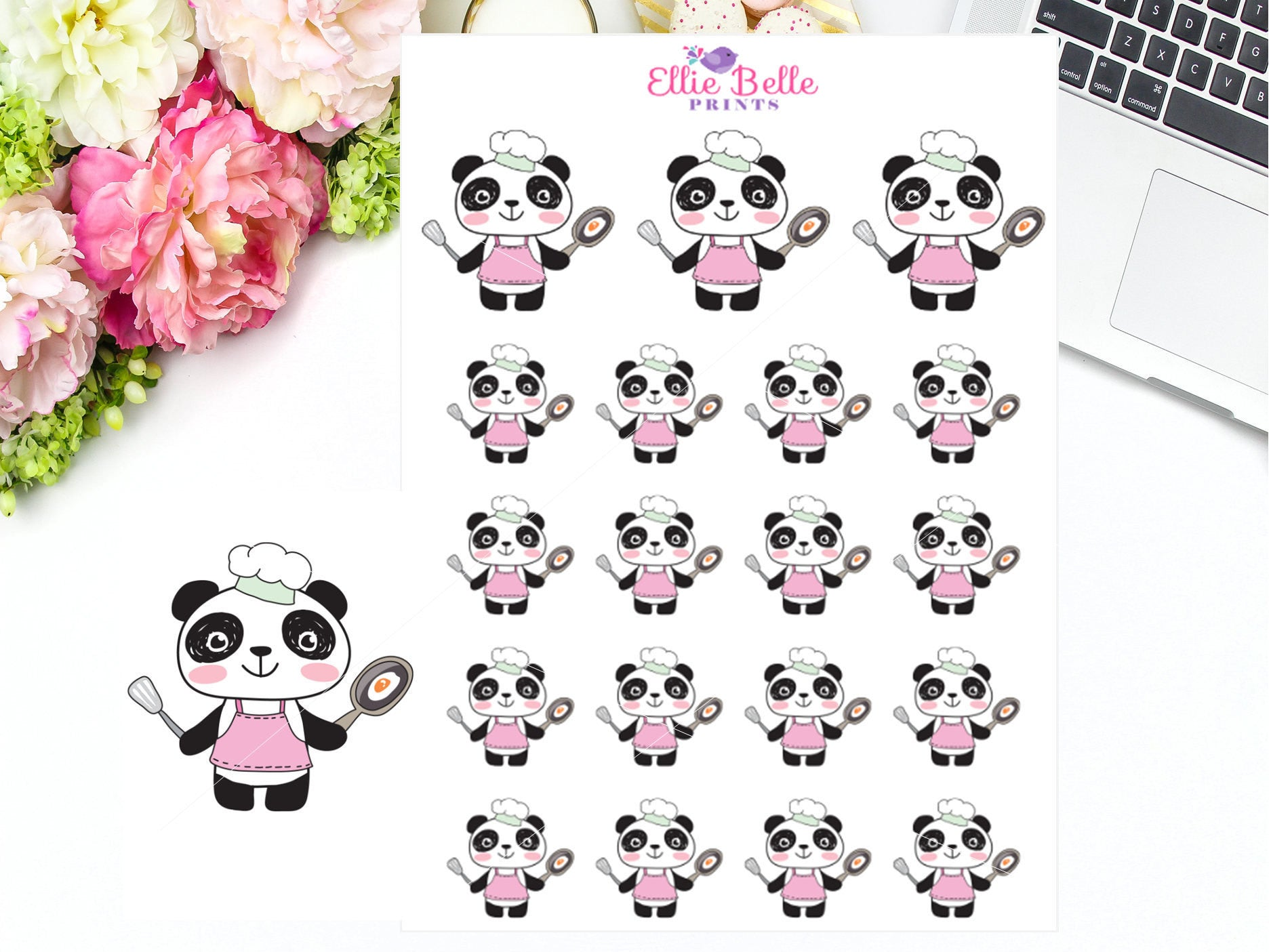 Cooking Stickers - PANDA Collection
