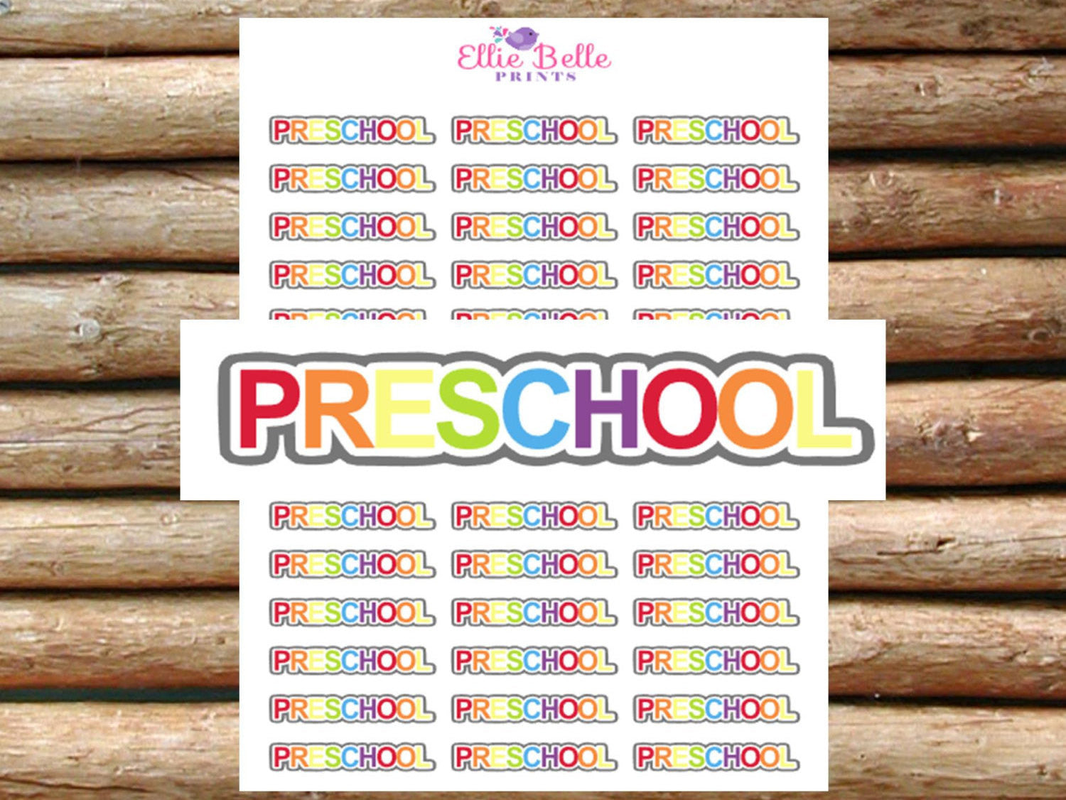 Preschool Stickers [026]
