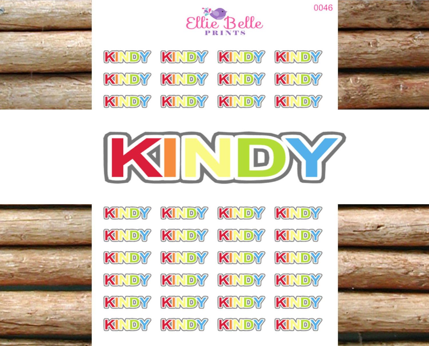 Kindy Stickers - [072]