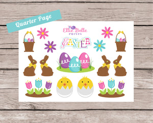Easter Decorative Stickers