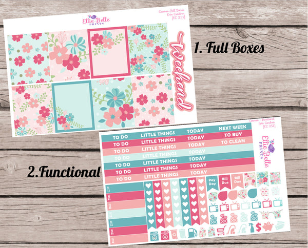 COSMOS COLLECTION  - Weekly Vertical Planner Kit