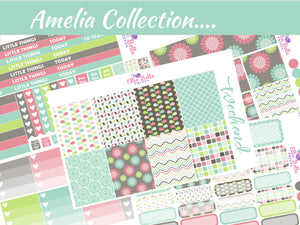 AMELIA COLLECTION - Vertical Planner Kit [260]