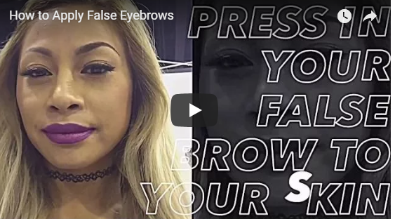 How to Apply Instabrows - False Brows