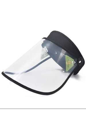 Facial Shield Visor with Adjustable Head Band